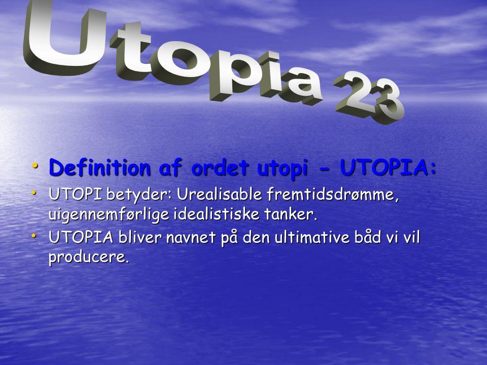 Utopia 23 Definition af ordet utopi - UTOPIA: