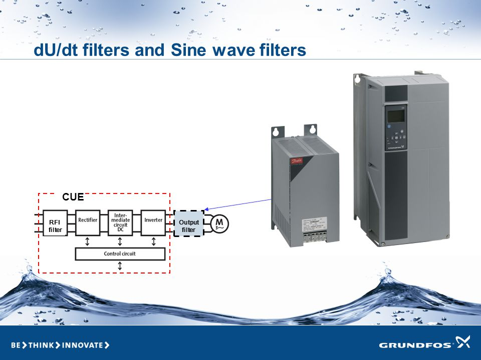 dU/dt filters and Sine wave filters