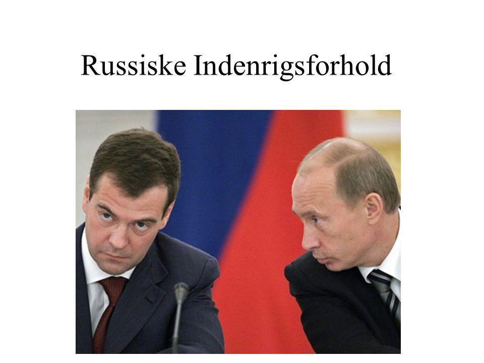 Russiske Indenrigsforhold