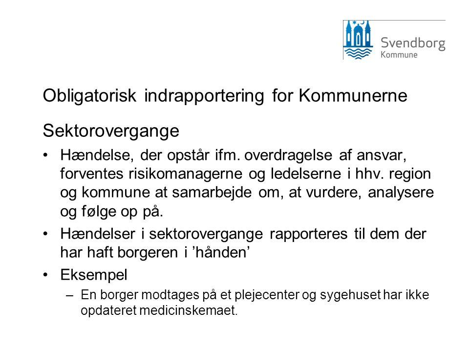 Obligatorisk indrapportering for Kommunerne