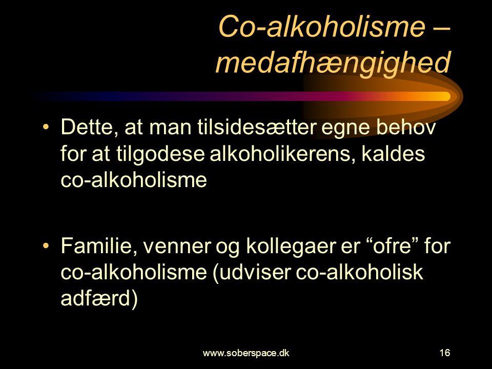 Co-alkoholisme – medafhængighed