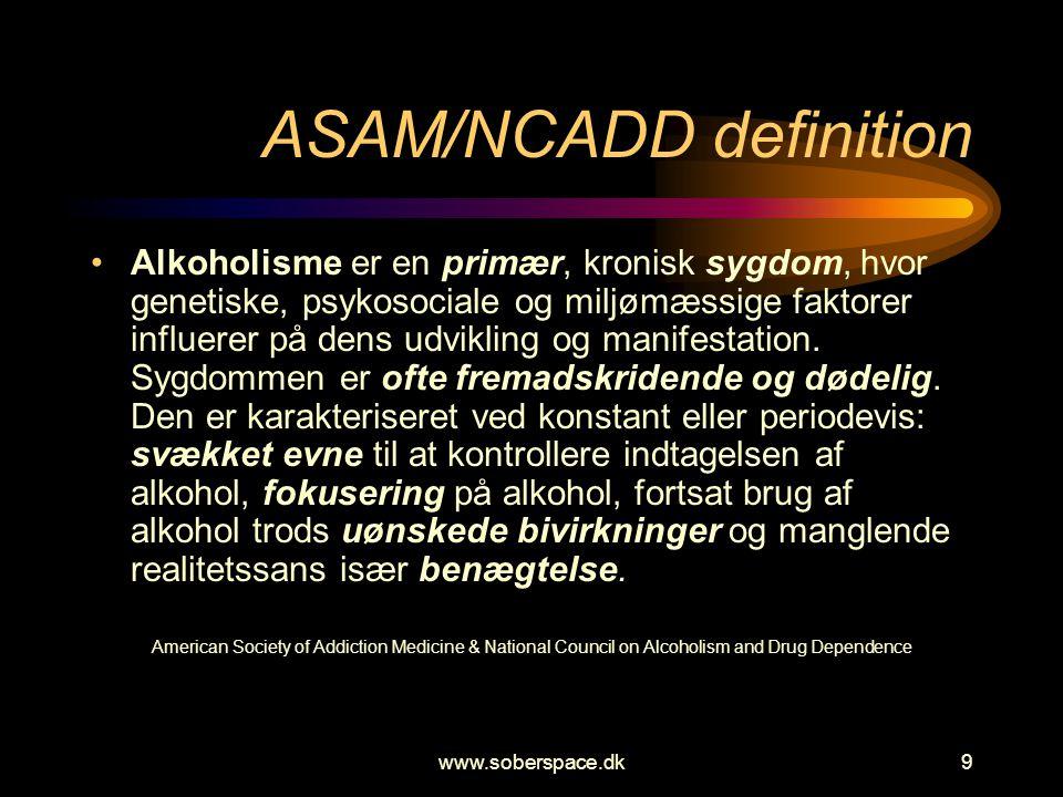 ASAM/NCADD definition