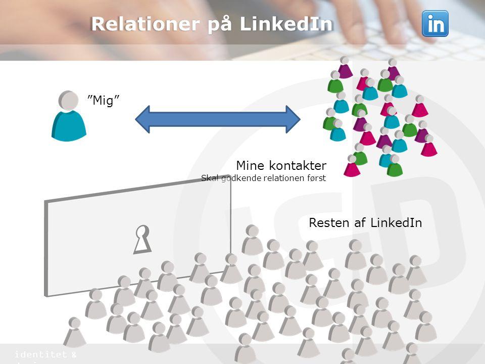 Relationer på LinkedIn