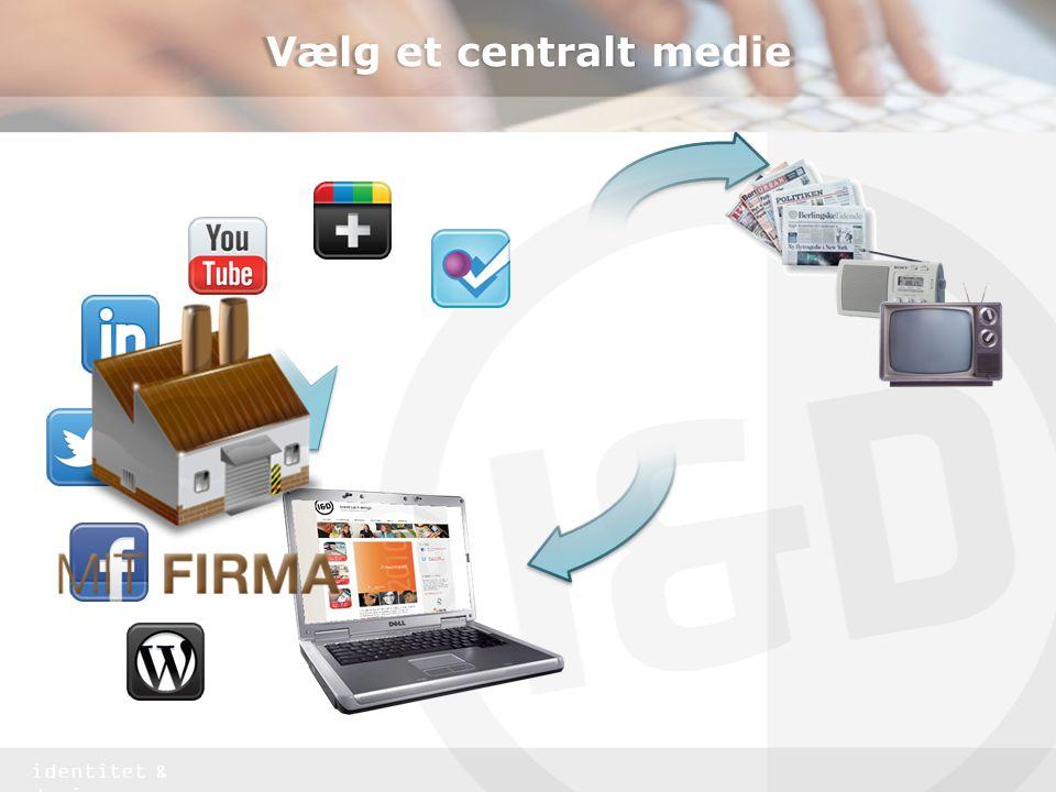 Vælg et centralt medie