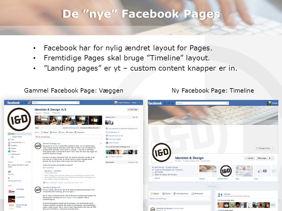 De nye Facebook Pages