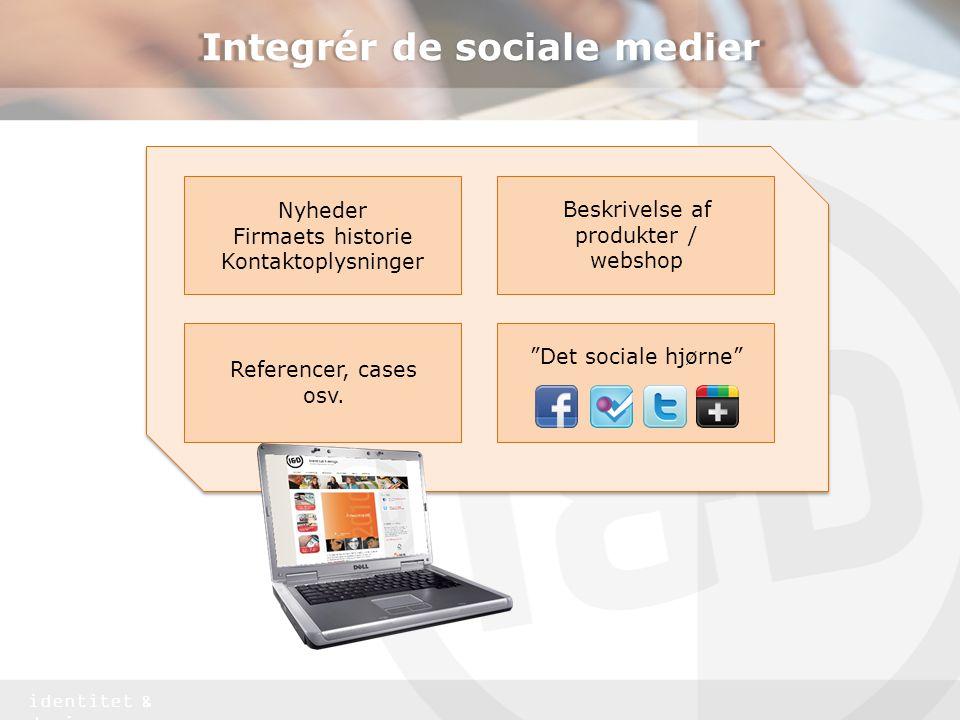 Integrér de sociale medier