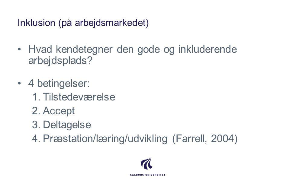 Inklusion (på arbejdsmarkedet)