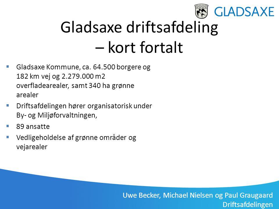 Gladsaxe driftsafdeling – kort fortalt