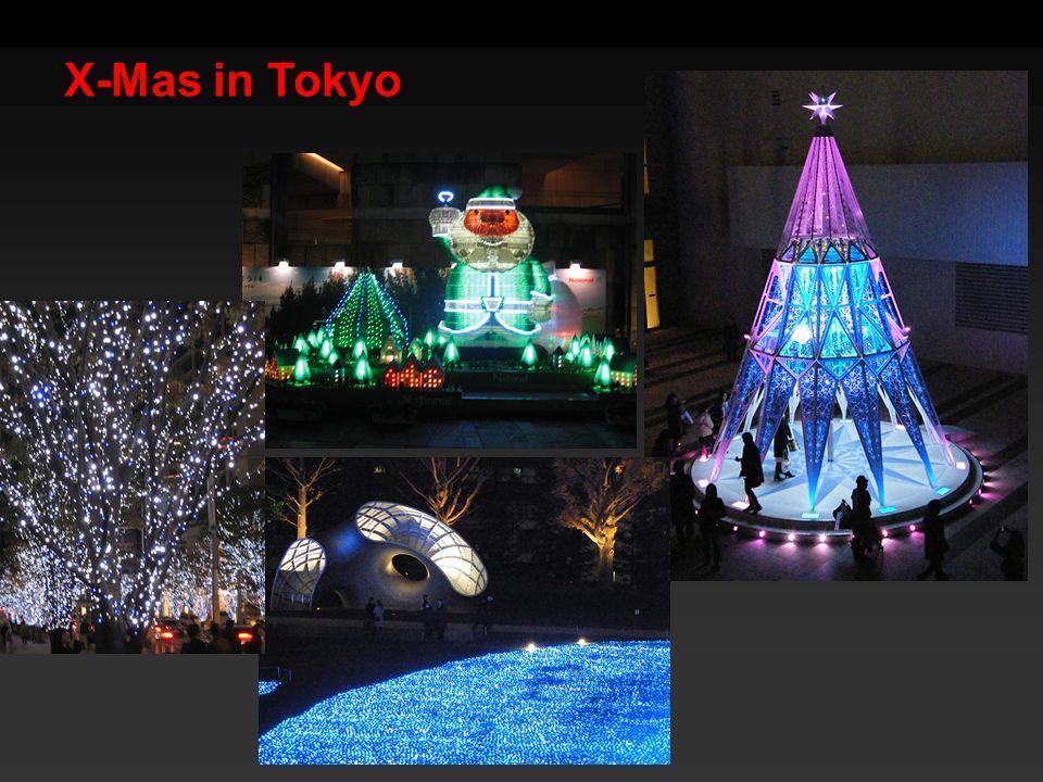 X-Mas in Tokyo
