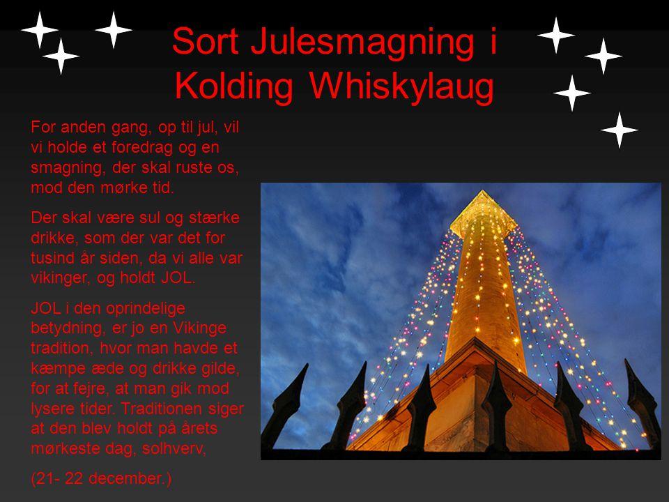 Sort Julesmagning i Kolding Whiskylaug