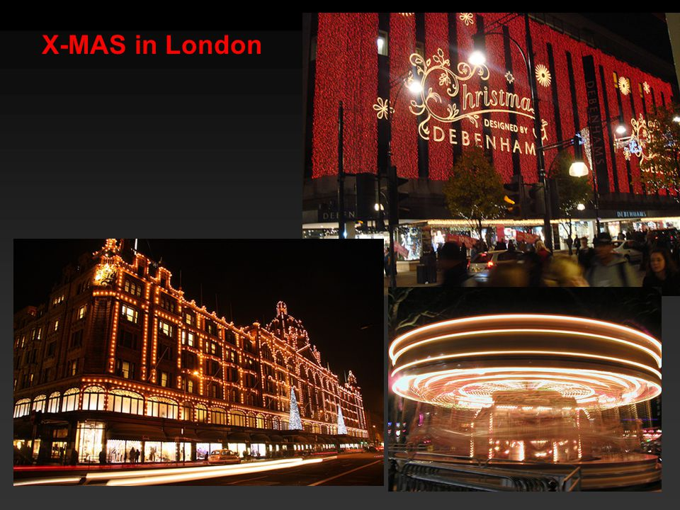 X-MAS in London