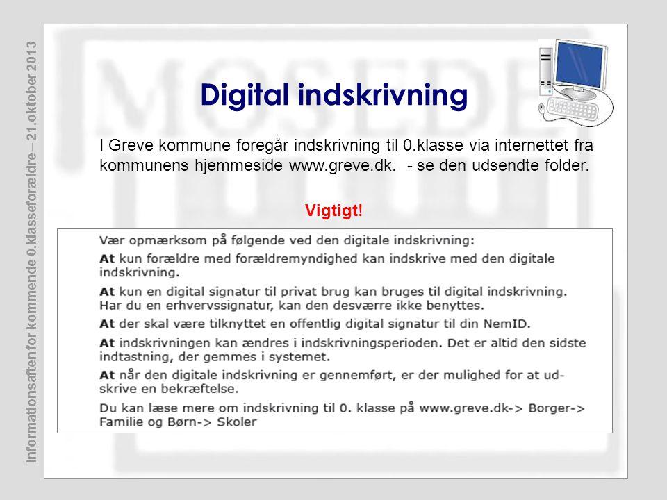 Digital indskrivning