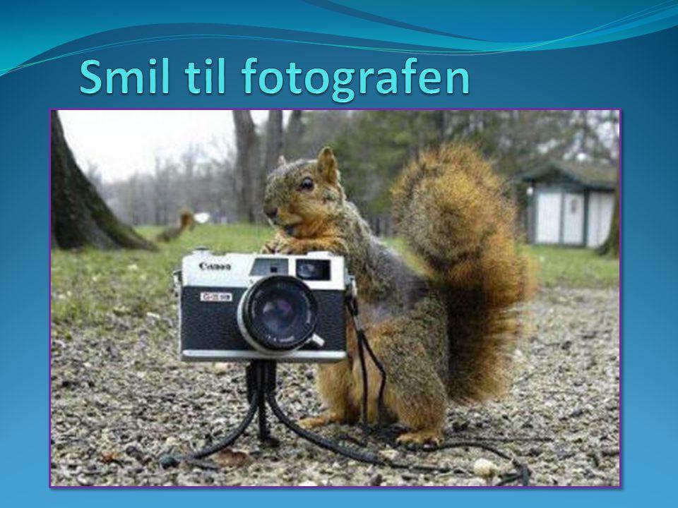 Smil til fotografen