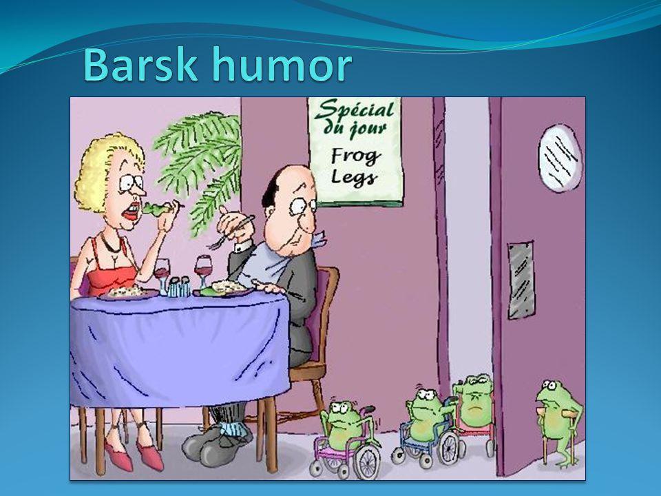 Barsk humor