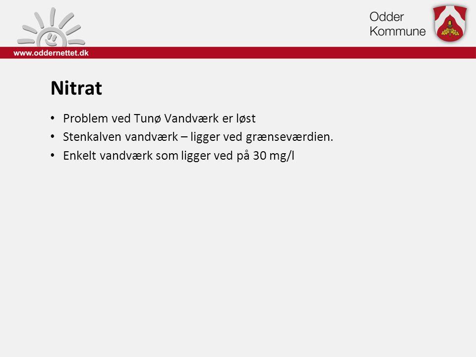 Nitrat Problem ved Tunø Vandværk er løst