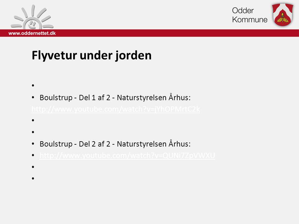 Flyvetur under jorden Boulstrup - Del 1 af 2 - Naturstyrelsen Århus: