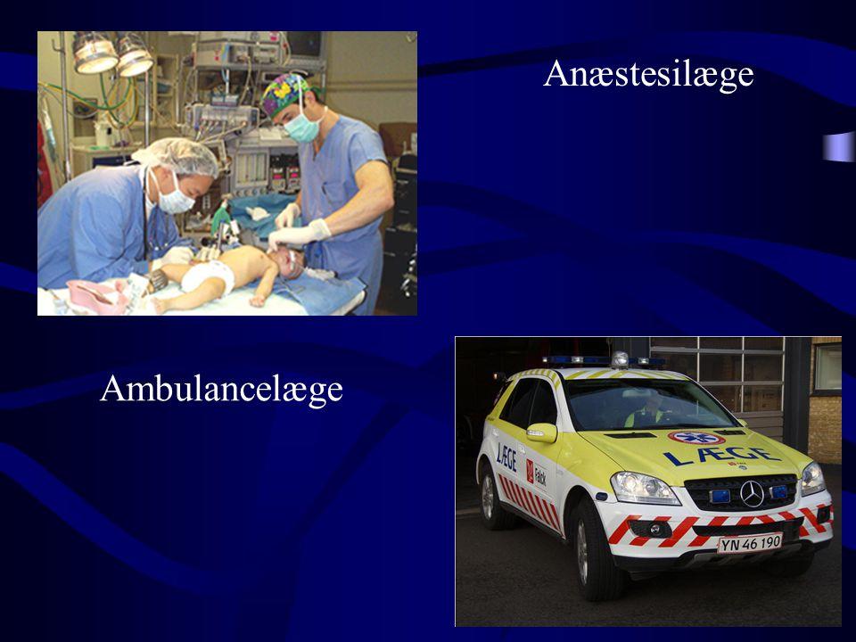 Anæstesilæge Ambulancelæge