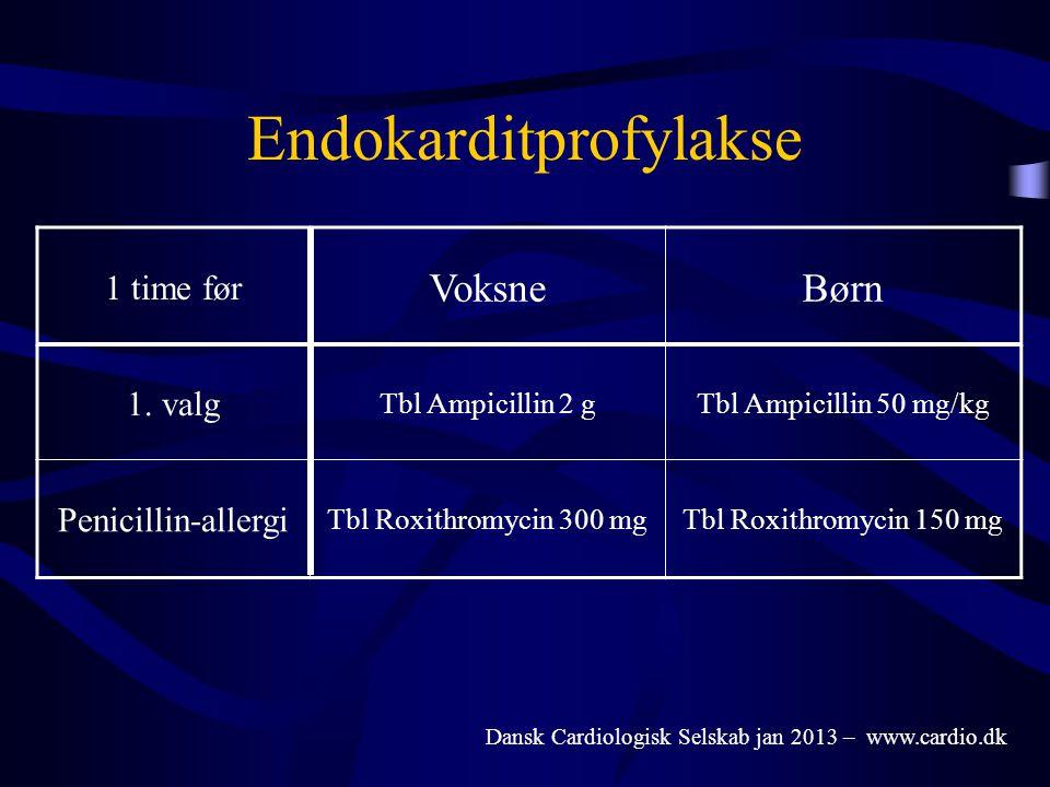 Endokarditprofylakse