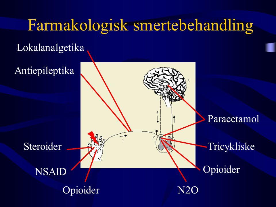 Farmakologisk smertebehandling