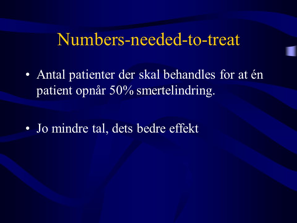 Numbers-needed-to-treat
