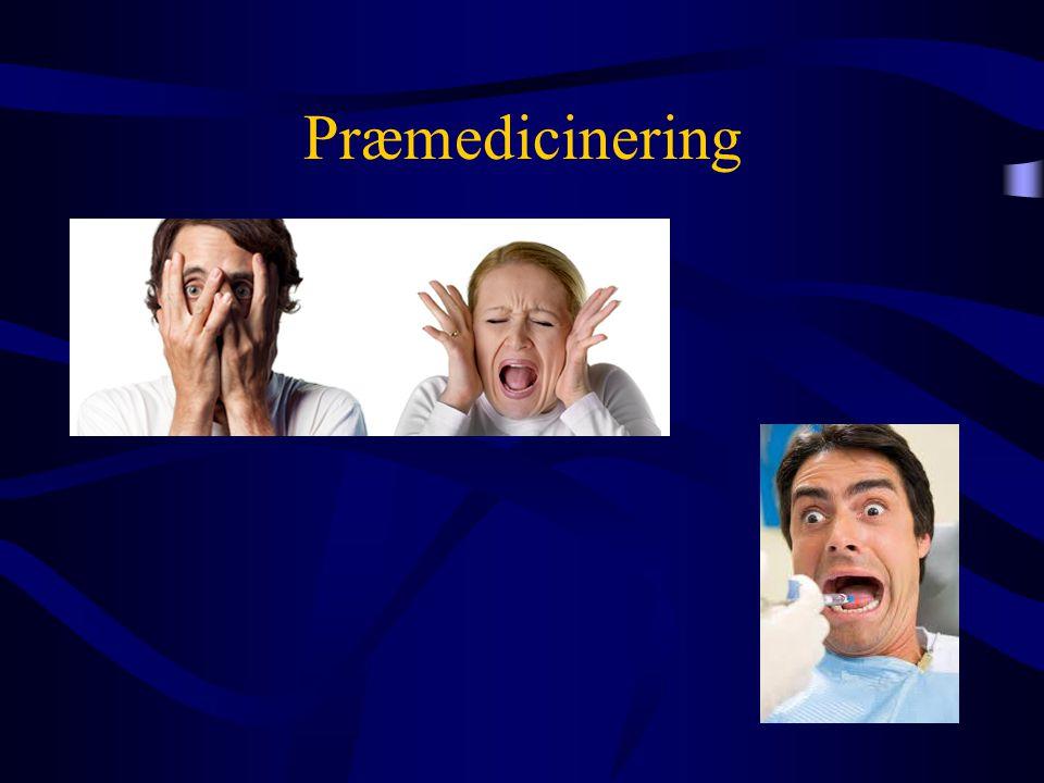 Præmedicinering