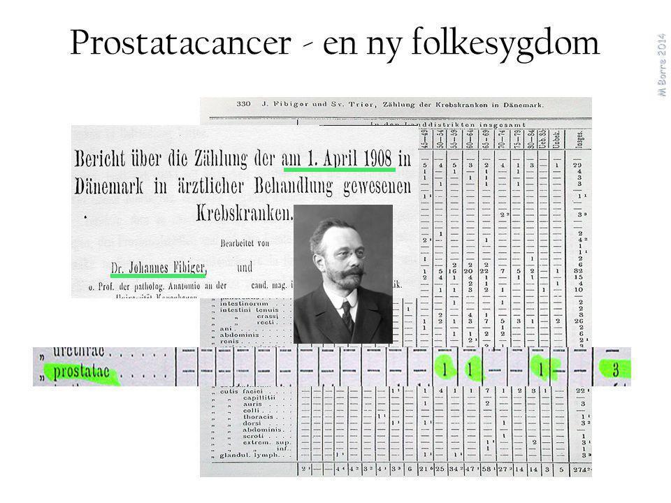 Prostatacancer - en ny folkesygdom