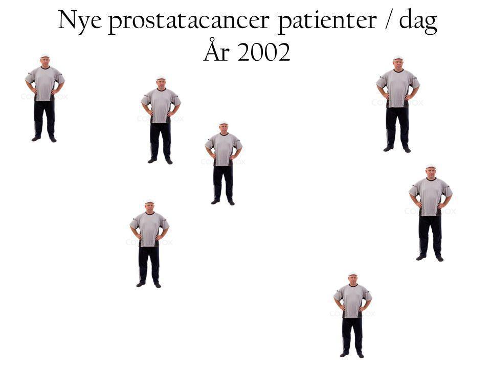 Nye prostatacancer patienter / dag