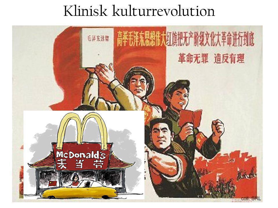 Klinisk kulturrevolution