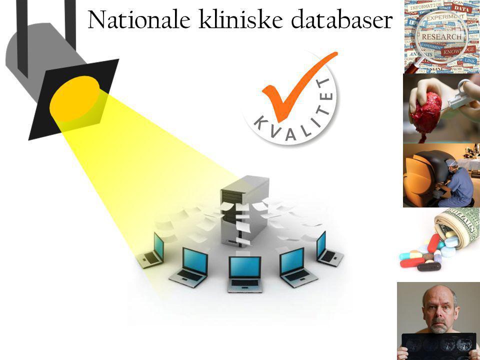 Nationale kliniske databaser