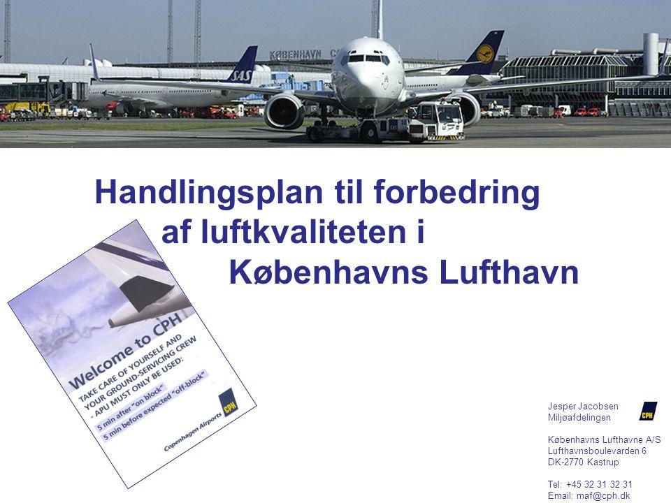 Handlingsplan til forbedring af luftkvaliteten i Københavns Lufthavn