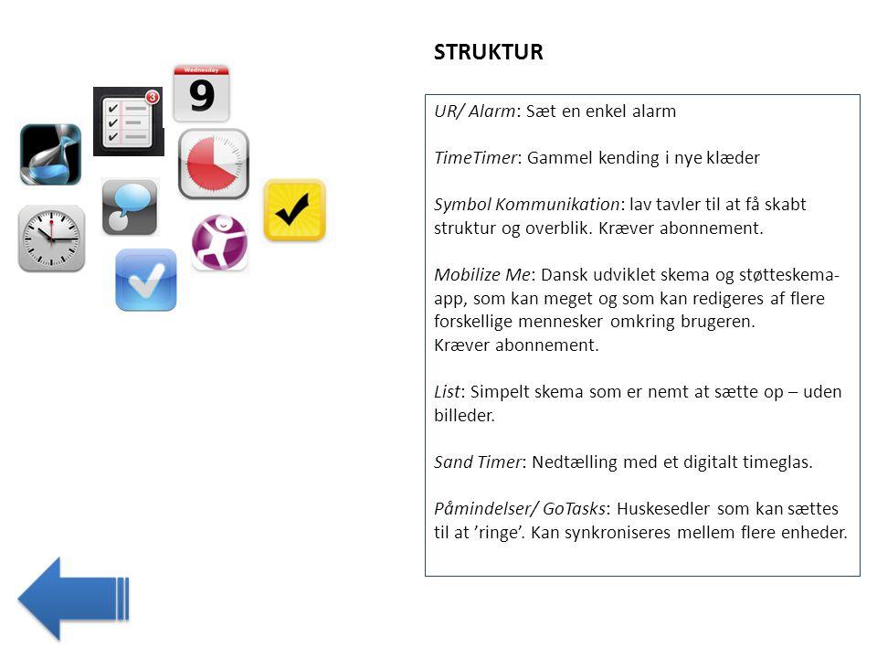 STRUKTUR UR/ Alarm: Sæt en enkel alarm