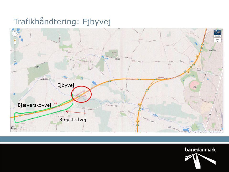 Trafikhåndtering: Ejbyvej