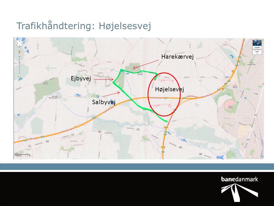 Trafikhåndtering: Højelsesvej