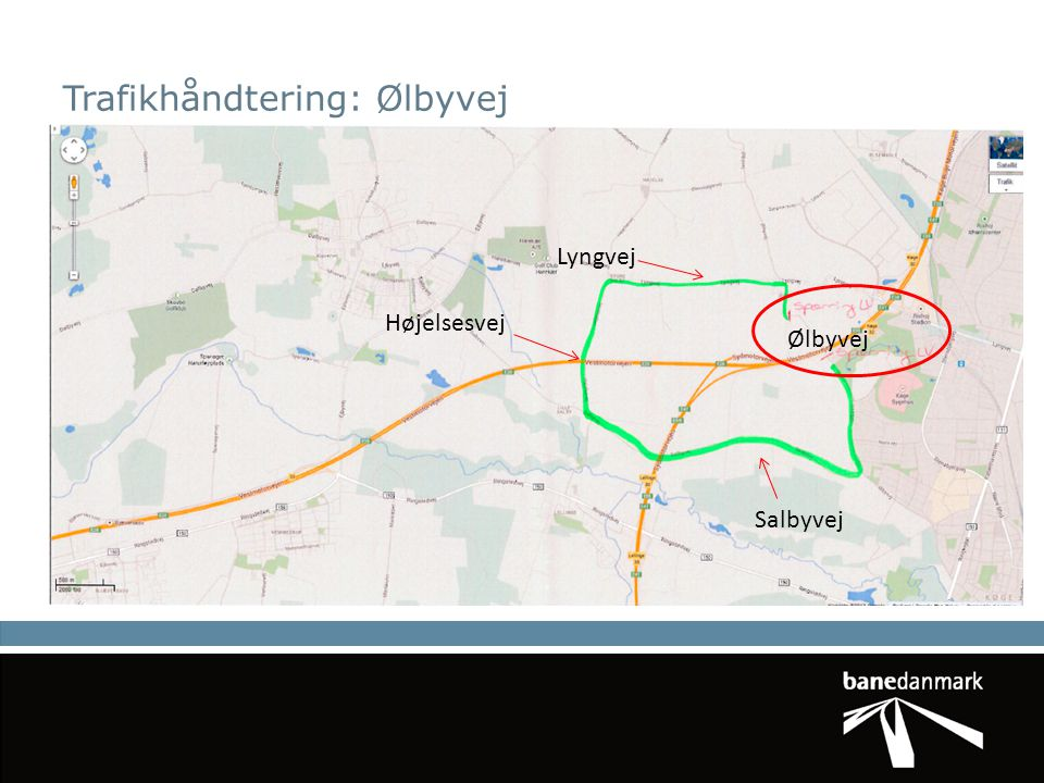 Trafikhåndtering: Ølbyvej
