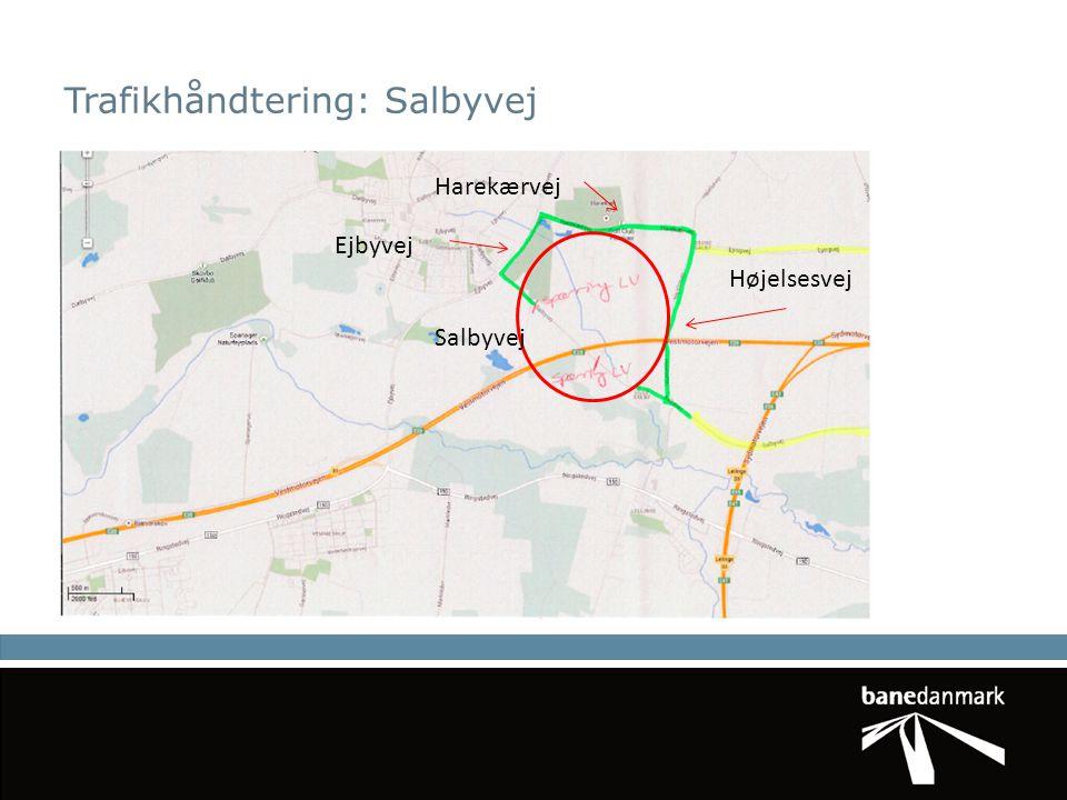 Trafikhåndtering: Salbyvej