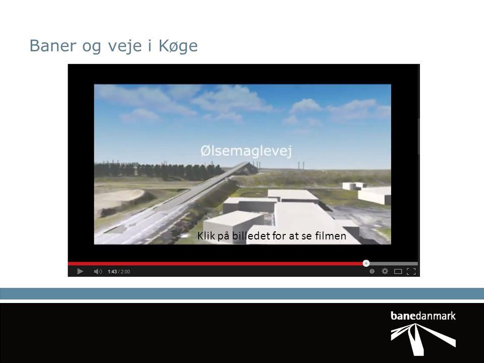 Baner og veje i Køge Klik på billedet for at se filmen TP45-animation