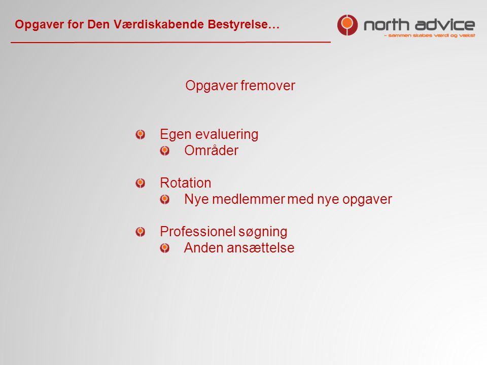 Opgaver for Den Værdiskabende Bestyrelse…