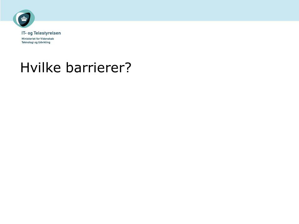 Hvilke barrierer