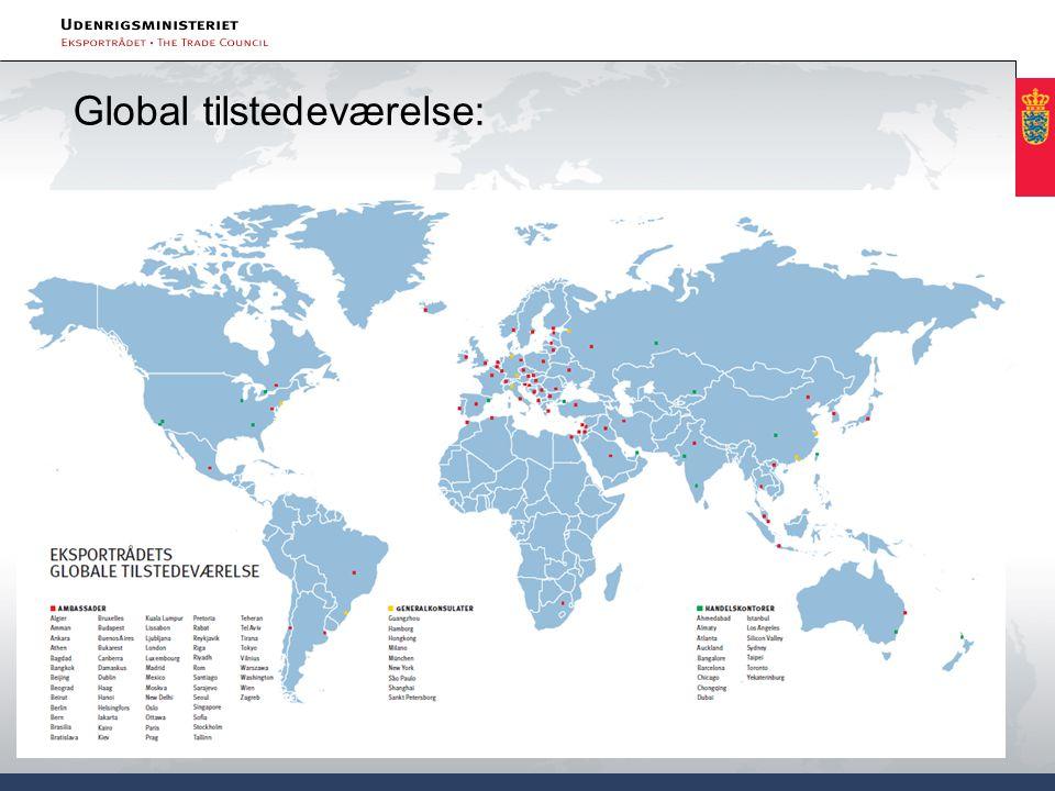 Global tilstedeværelse: