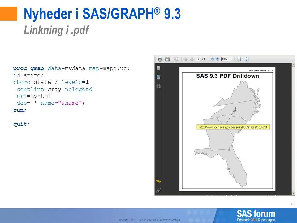 Nyheder i SAS/GRAPH® 9.3 Linkning i .pdf