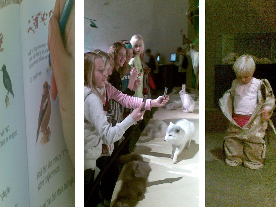 Det er nemlig sådan, at når besøgende oplever det naturhistoriske museum, så er tre bærbare teknologier på afgørende vis med til at forme museumsoplevelsen.