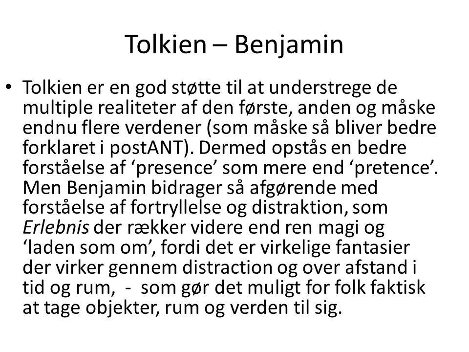 Tolkien – Benjamin
