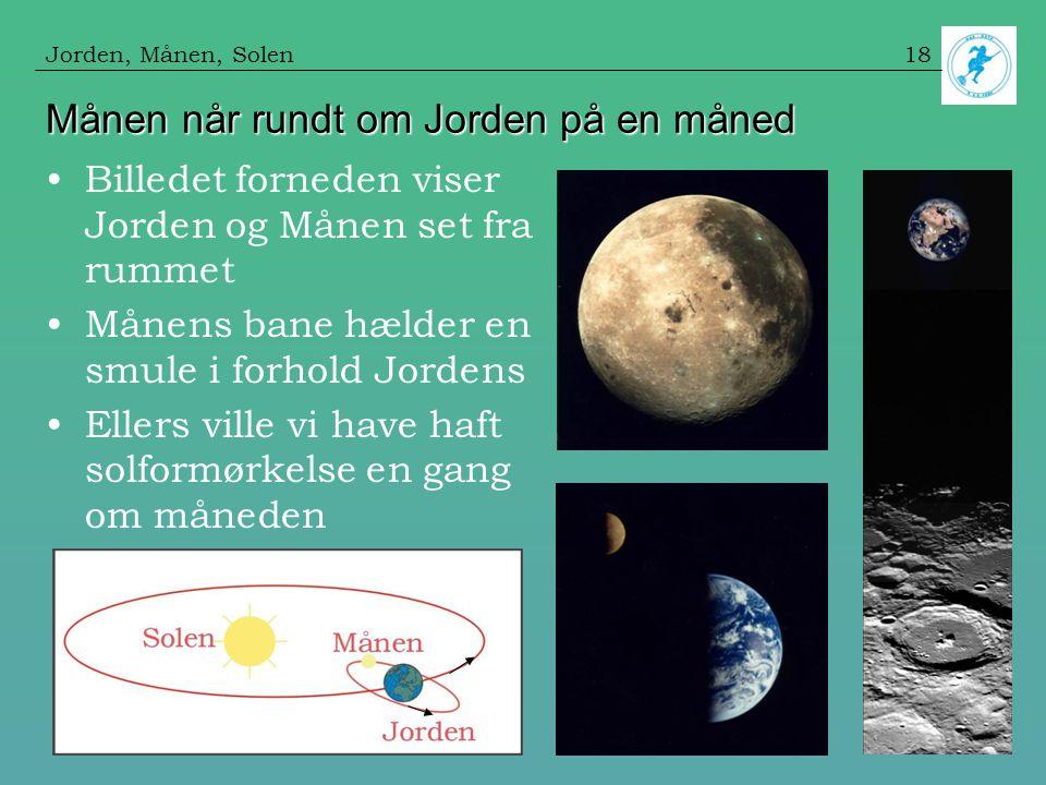 jorden i forhold til andre planeter