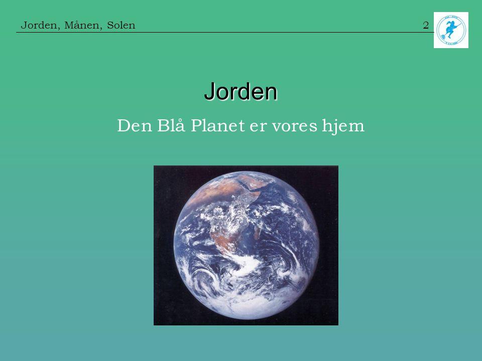 Den Blå Planet er vores hjem