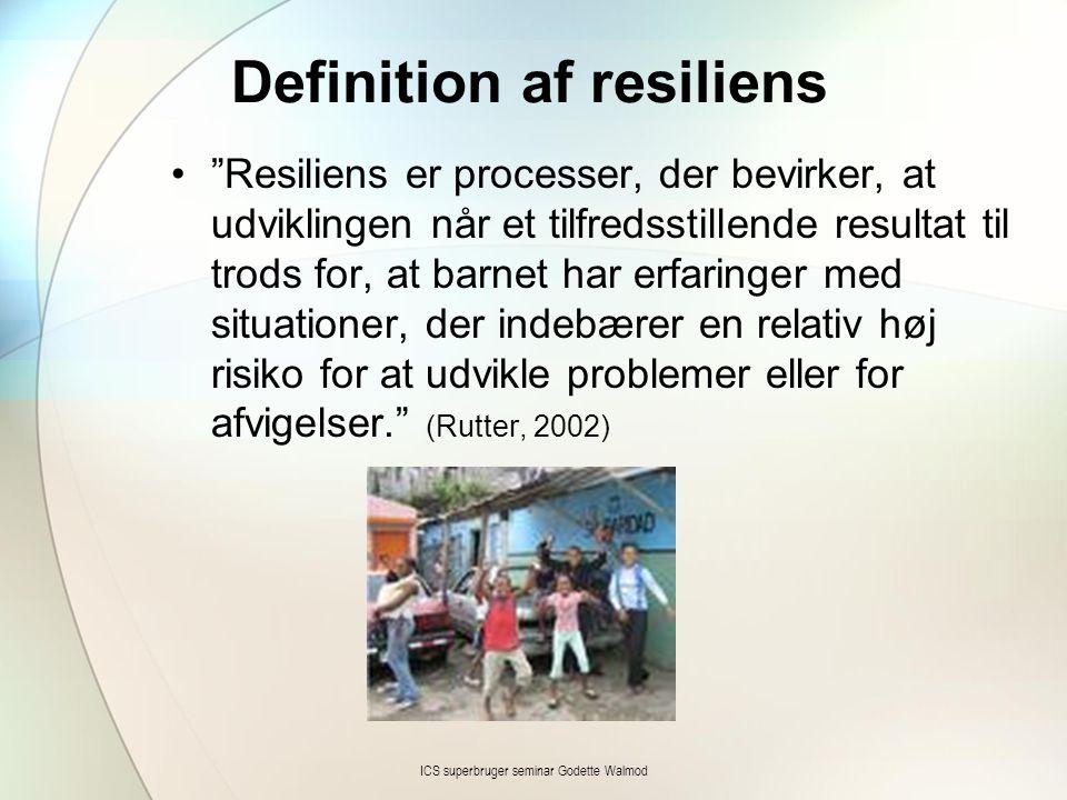 Definition af resiliens