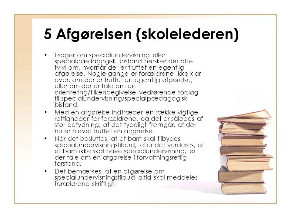 5 Afgørelsen (skolelederen)