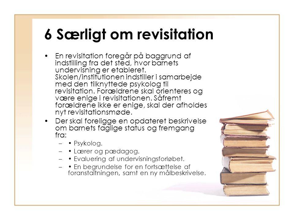 6 Særligt om revisitation