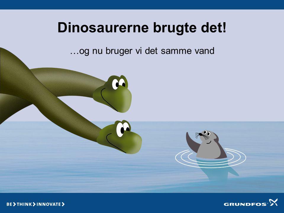 Dinosaurerne brugte det!