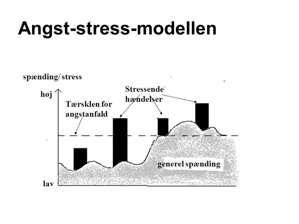 Angst-stress-modellen
