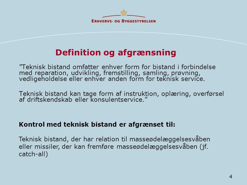Definition og afgrænsning